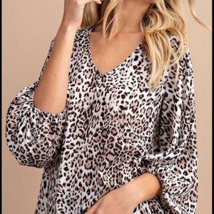 Favorite Leopard Top